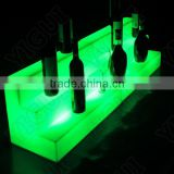 led wine beer display/ led serving tray ice beer food light