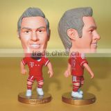 Cartoon custom plastic toy football,OEM custom plastic toy figure,3D plastic toys football figures