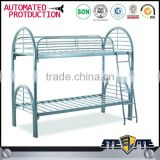 New product metal double bunk bed/twin over full bunk bed for adult