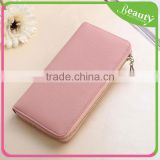 Fashion Ladies Women Wallet Genuine Leather Purses Long Wallet