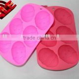 Silicone 6 EGGS Chocolate Cake Soap Mold