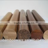 Hot sale high quality 100% solid round bamboo stick