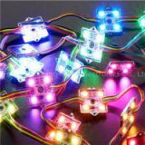 12mm RGB LED Module WS2811 Pixel Node Module Light String Addressable DC5V Non-waterproof