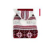 Personalized XS / XL Dog Clothes with Snowflake Print PET Wear Winter Coats For Small Dogs