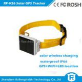 Reachfar rf-v26 mini waterproof solar gps tracker animal suitable for cattle/cow tracking