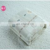 Anti-slip hotel thick bath mat with fabric textiles