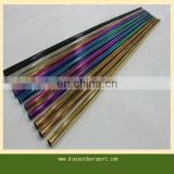 colored electroplated steel golf shafts
