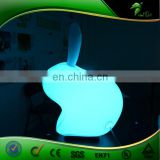 Giant LED Inflatable White Rabbit Events In Stage Decoration For The Party Event Party Supplies Night Club