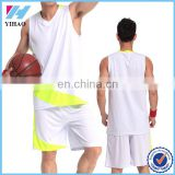 New style hot selling basketball jersey uniform men 100% polyester sports clothing basketball wear