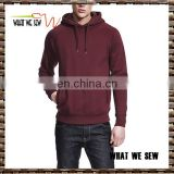 Unisex pullover hoody with side pockets cotton hoodies sweatshirts with zippers