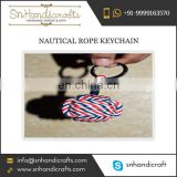 Order Large Amount of Monkey Fist Nautical Rope Keychain from Well-Established Dealer of Indian Market