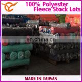 Taiwan 100% Polyester Fleece Mop Fabric Stock Lots