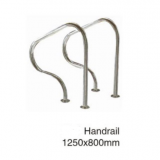 high quality strinless steel Ladder handrail for swimming pool