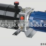 220v hydraulic power unit auto lift, professional double acting hydraulic power pack for lift table