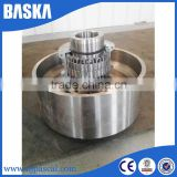 High quality flexible double flange shaft coupling