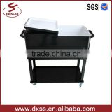 73lt Metal ice box cooler stainless steel