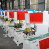 high quality iron worker punching and cutting machine