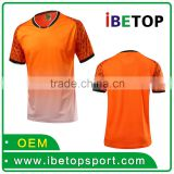 Hot Sale Wholesale Soccer Uniforms Set / Soccer Jersey Team Uniforms / High Quality Football Uniform