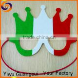 New design Halloween party Italy flag non-woven mask