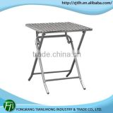 outdoor console table/stainless steel folding table