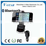 Universal bluetooth magnetic car holder, bluetooth handsfree and car charger 3 in 1 functions
