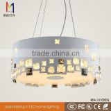 8 year professionally Chinese Manufactured metal pendant light E27 bulb chandeliers lamp for hotel 804-1310002L