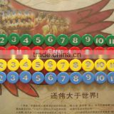 48 piece of 4 color chips/Elderly activity center mahjong chips/children gifts education teaching materials Trolltech