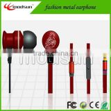 Chinese zodiac creative metal earphone. Popular constellation design .fashion 3.5mm jack stereo earphone (EP-J259)