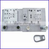 Zipper slider accessories YG slider brass puller spring needle pressing mould punching mould