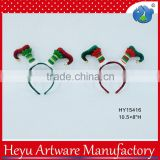 Christmas Elf Handicraft Headbands Felt Christmas Cute Baby Hair Accessory
