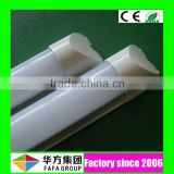 UL DLC CE RoHS approved 110lm/w CRI>80 LM80 120cm 1200mm 4ft 18w integrated t8 led tube 86-265v/ac with milky cover