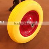 Solid polyurethane wheel Pu foam wheel 4.00-8