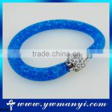 New Product Handmade blue bracelet jewelry magnetic with wholesale price A0001