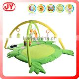 New born baby gift items plush animal play mat for kid