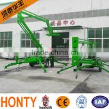 6-18m diesel power hot-selling hydraulic car lift for service station ce/aerial work lift for sale