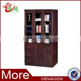 alibaba china modern office furniture bookcase 3 glass door filing cabinet F031
