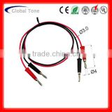 P1023A instrument test wire banana plug jumper lead wires
