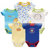 BSCI passed factory baby bodysuit newborn rompers infant baby clothes 0-24 months bodysuit
