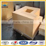 for glass furnace fire clay refractory bricks