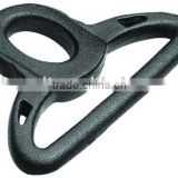 Plastic double triangle D-ring (HL-F019)