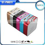 Colorful wholesale cube magic powerbank charger universal portable power bank