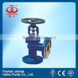 1/2'' cast steel bellow seal flange end water stop valve