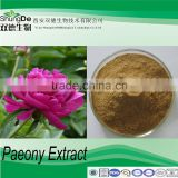 Cosmetic Raw Materials White peony root P.E used for coronary heart disease
