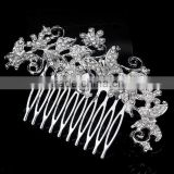 Wholesale crystal women wedding hair combs hair piece crown with good qualiy                                                                         Quality Choice