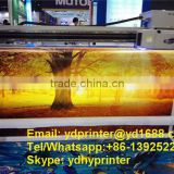 Large format digital UV hybrid printer for vinyl/pvc film, advertisement banner printing machine price