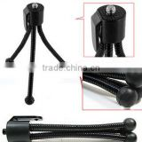 Mini Flexible Camera Tripod stand monopod Octopus Tripod for cell phone for G-opro Camera Accessories