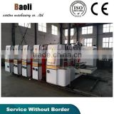 Corrugated Cardboard box making machine, cardboard printing machine, Flexo printing slotting machine