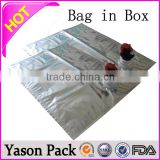 yason bag in box filled from chilled product temperatures up to 85 degrees celsius 1-50 liter water bag in box & liquid bag & b