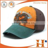 2016 China factory wholesale cloth patch baseball cap custom 100% cotton twill hat                                                                         Quality Choice