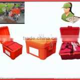 82L insulated Food Delivery Rear Box for motorcycle/scooter bicycle